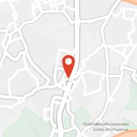 Mapa com localização da Loja CTTVALADARES