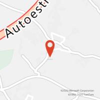 Mapa com localização da Loja CTTVALE DA PINTA