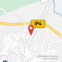 Mapa com localização da Loja CTTVALE DE ÁLVARO (BRAGANÇA) (Fechada)
