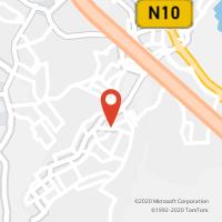 Mapa com localização da Loja CTTVALE MILHAÇOS