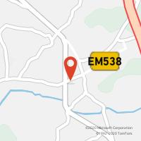 Mapa com localização da Loja CTTVÁLEGA