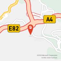 Mapa com localização da Loja CTTVENDA DO CAMPO