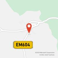Mapa com localização da Loja CTTVERMIOSA