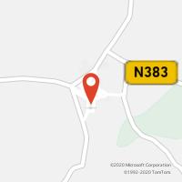 Mapa com localização da Loja CTTVILA NOVA DA BARONIA