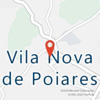 Mapa com localização da Loja CTTVILA NOVA DE POIARES