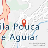 Mapa com localização da Loja CTTVILA POUCA DE AGUIAR