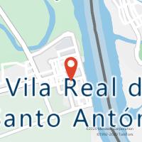 Mapa com localização da Loja CTTVILA REAL SANTO ANTÓNIO