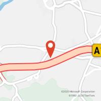 Mapa com localização da Loja CTTVILA SECA