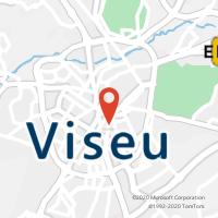 Mapa com localização da Loja CTTVISEU