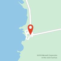 Mapa com localização da Loja CTTZAMBUJEIRA DO MAR